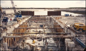 Port Solent Marina Lock Cofferdam